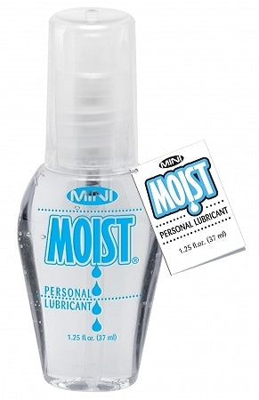 Moist Personal Water Based Lubricant - 1.25 oz Pump Bottle