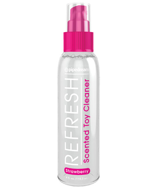 Refresh Toy Cleaner - 4 oz Strawberry