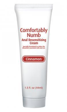 Comfortably Numb Anal Desensitizing Cream  - Cinnamon