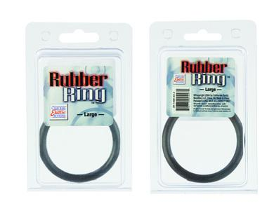 Black Rubber Ring - Large