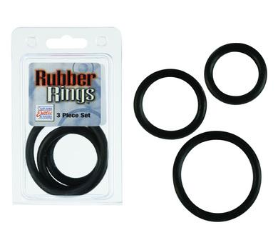 Rubber Ring Set - Black