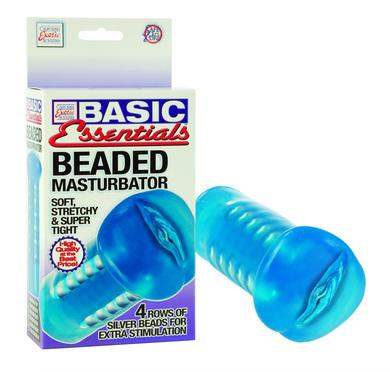 Basic Essentials Beaded Masturbator