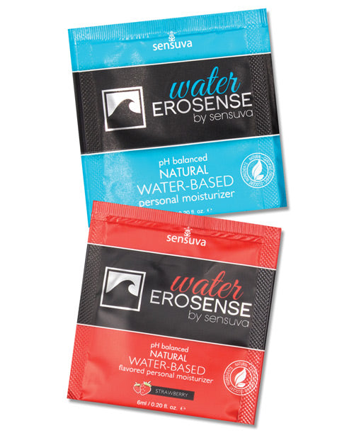 Sensuva Erosense Personal Moisturizer Packet Tub - Single Use Packet Tub of 100