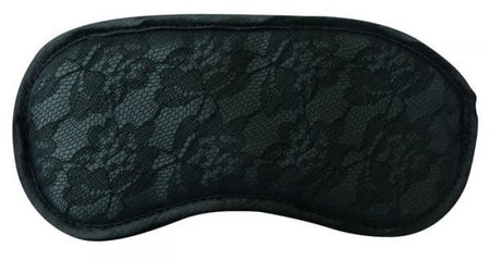 Midnight Lace Blindfold - Black
