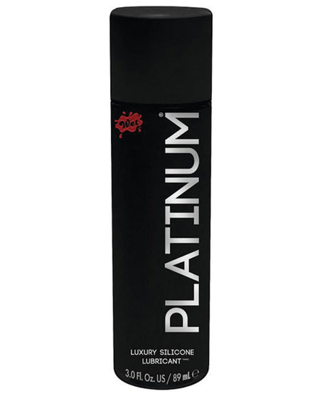 Wet Platinum Luxury Silicone Lubricant - 3 oz