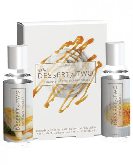 Wet Dessert for 2 Flavored Lubricant Gift Set