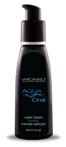 Wicked Sensual Care Waterbased Chill Cooling Sensation Lubricant - 2 oz