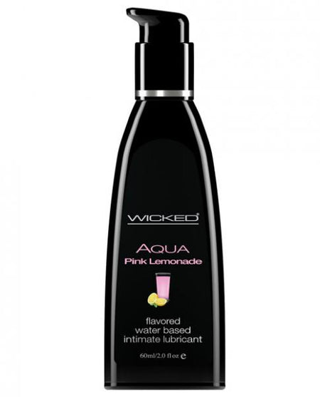Wicked Sensual Care Waterbased Lubricant - 4 oz Pink Lemonade
