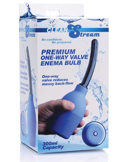 CleanStream Premium One Way Valve Enema Bulb