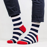 Sosete Just Stripes - Marine