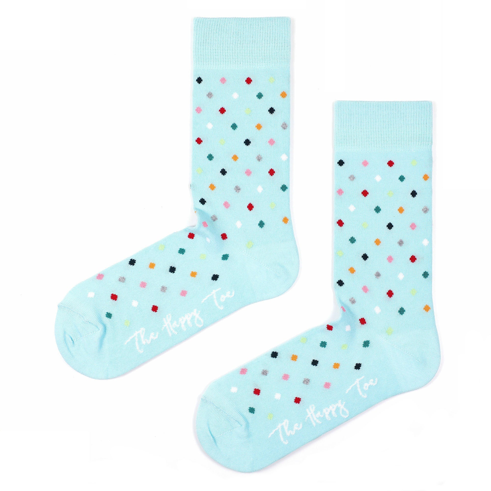 Sosete Small Dots - Sky Blue