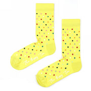 Sosete Small Dots - Yellow