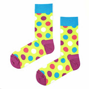 Sosete Huge Dots - Neon
