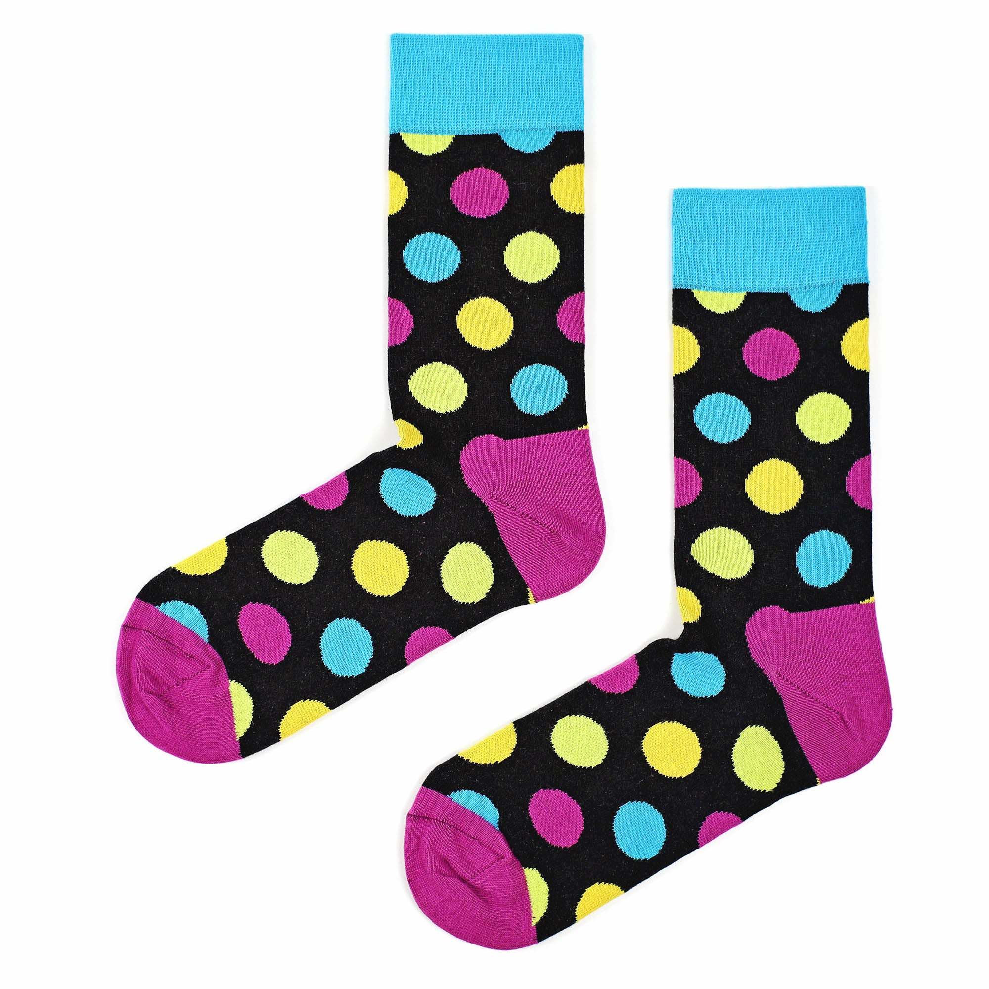Sosete Huge Dots - Black