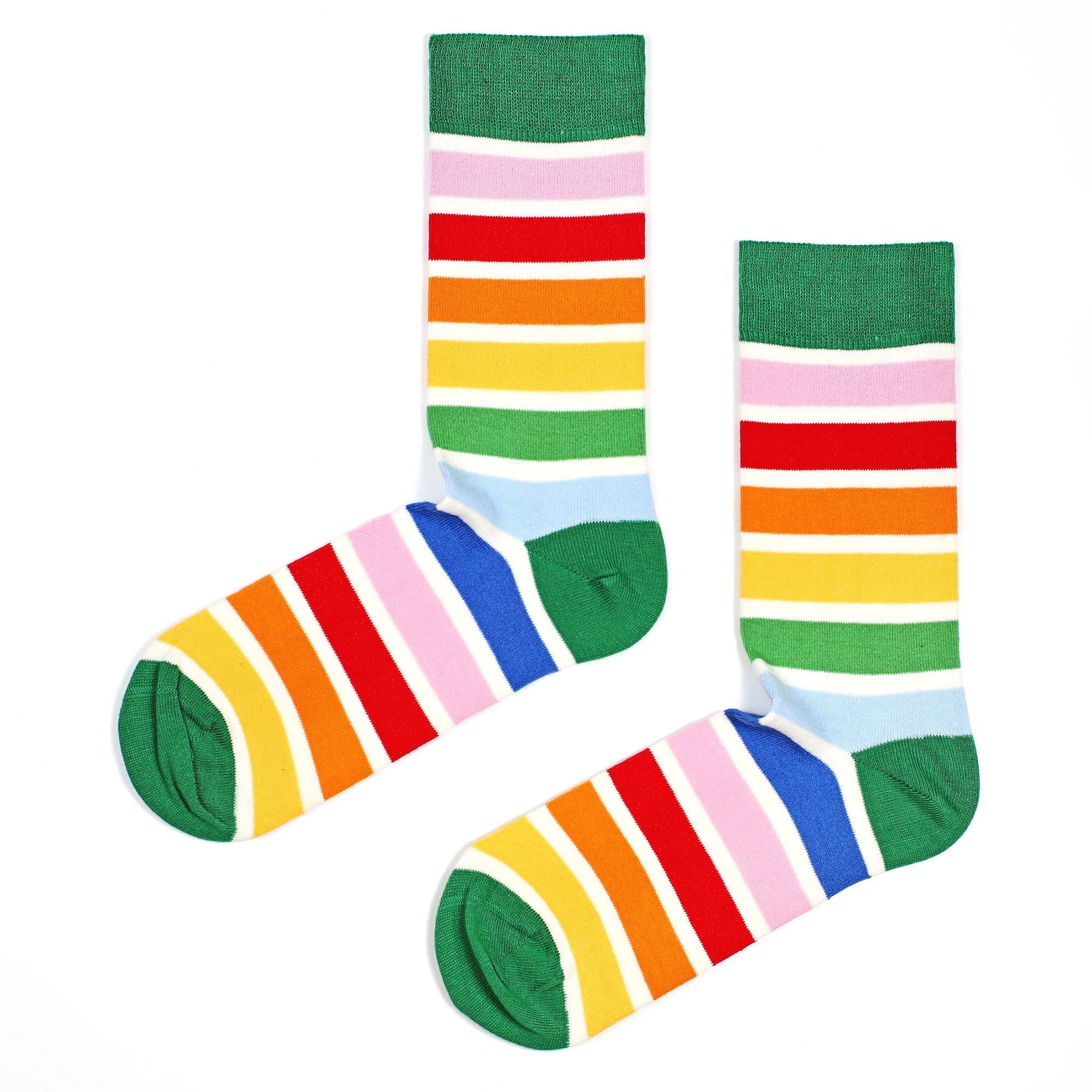 Set 5 perechi Sosete Stripes and Dots Pack