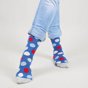 Sosete Huge Dots - Blue