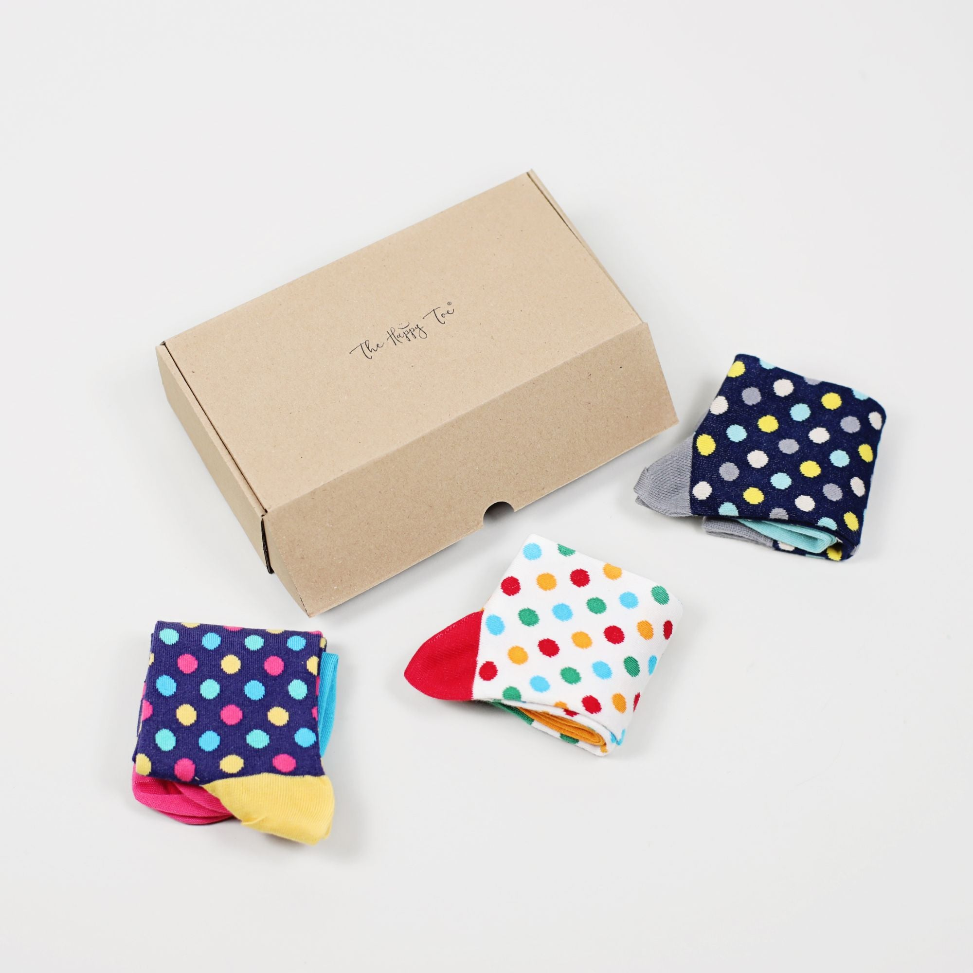 Set 3 perechi Sosete Dots Pack