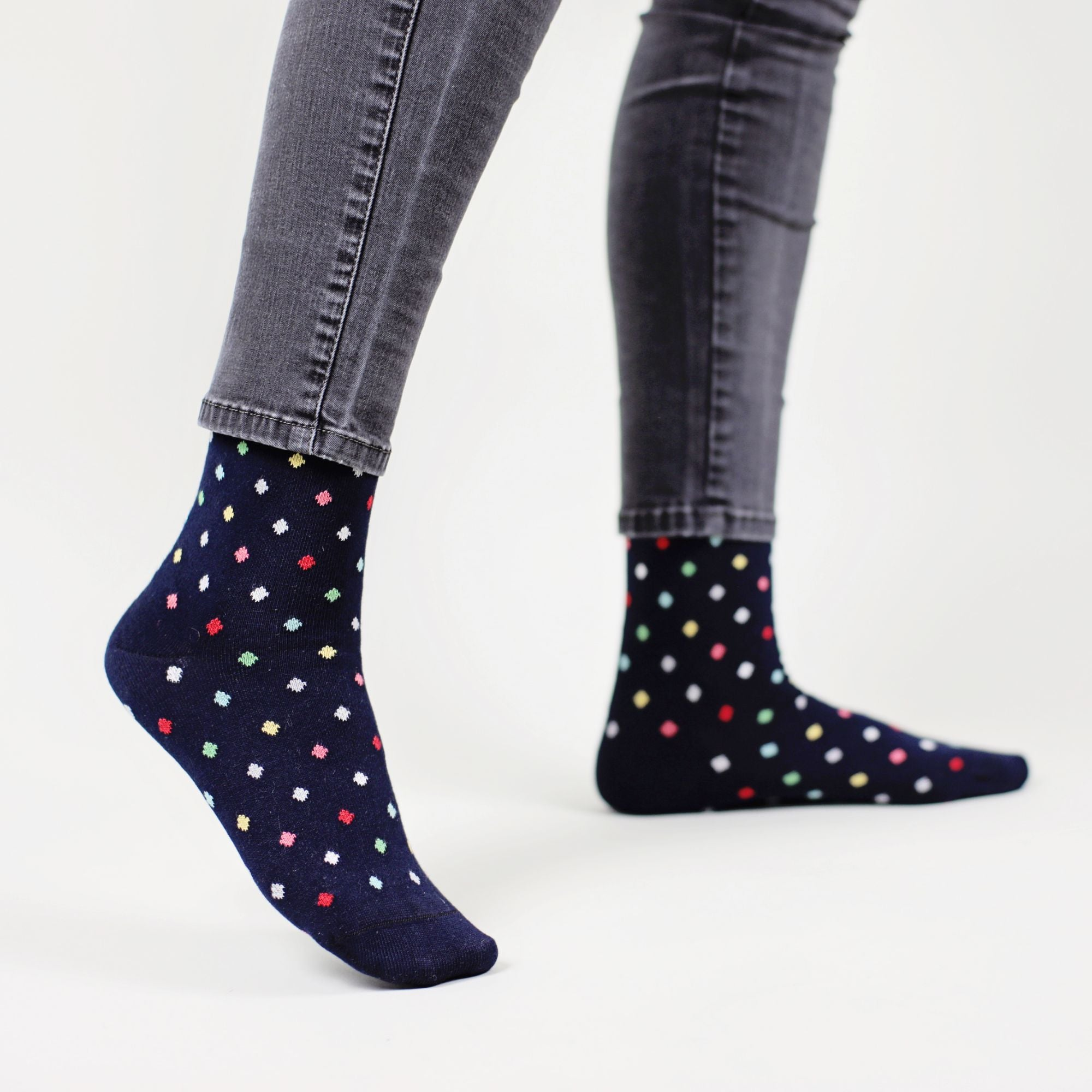 Small Dots - Dark Navy