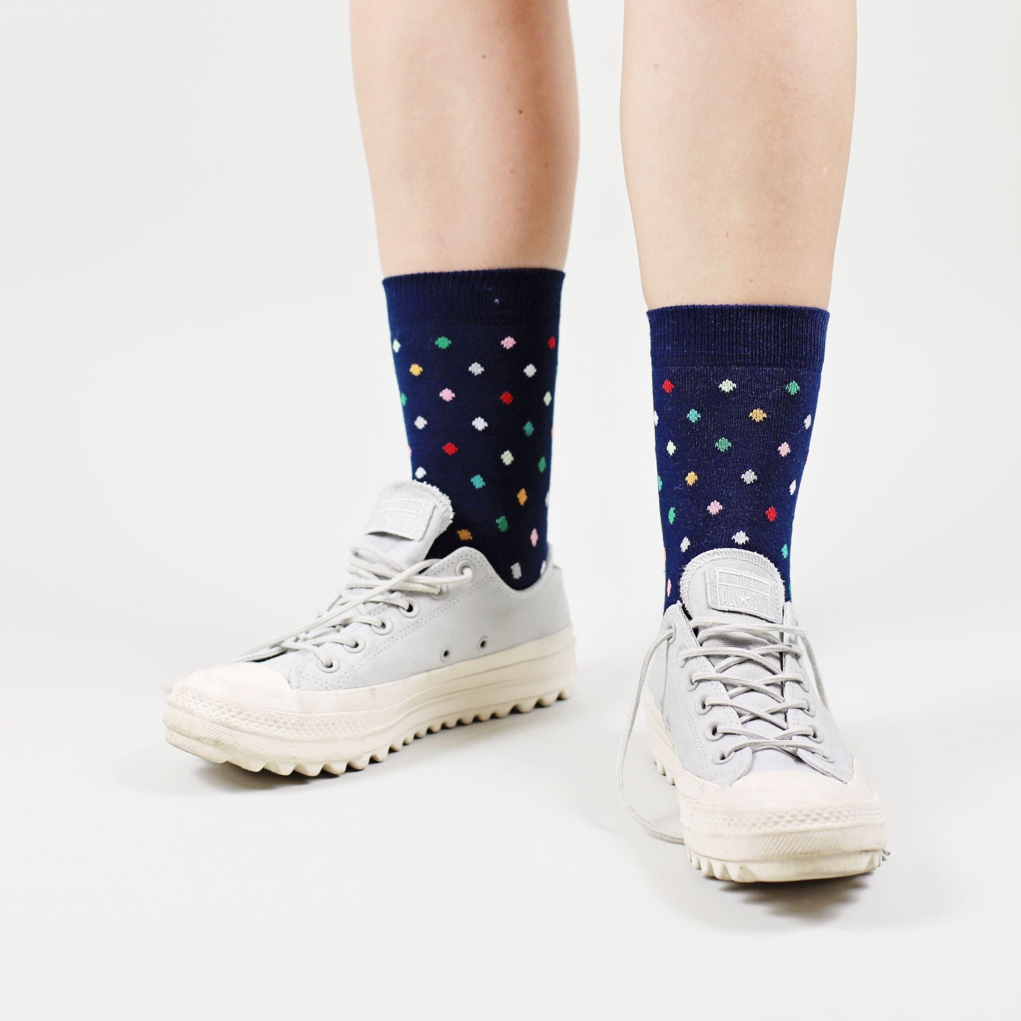 Sosete Small Dots - Navy