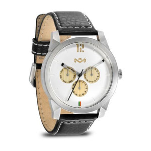 "House of Marley Men""s Billet Leather Watch (WM-FA005-IO)"