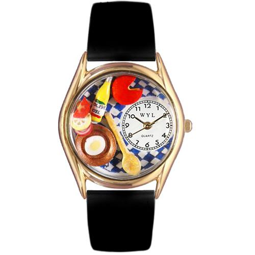 Gourmet Watch Small Gold Style