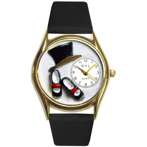 Tap Dancing Watch Small Gold Style
