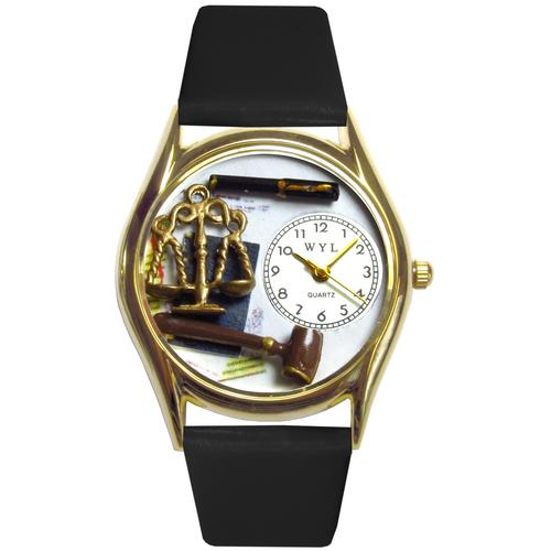 Lawyer Watch Small Gold Style