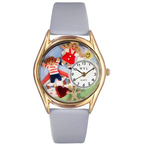 Day Care Teacher Watch Small Gold Style