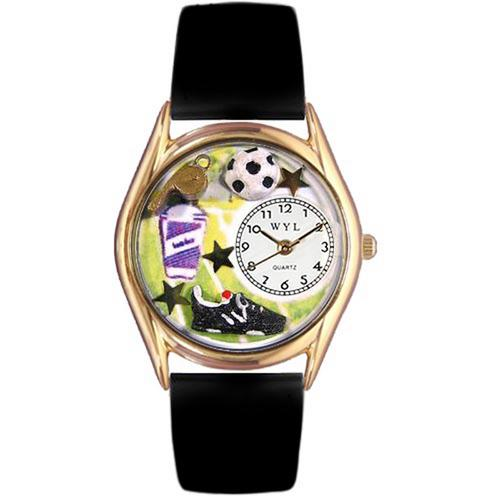 Soccer Watch Small Gold Style