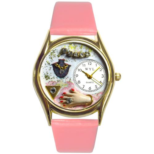 Jewelry Lover Pink Watch Small Gold Style