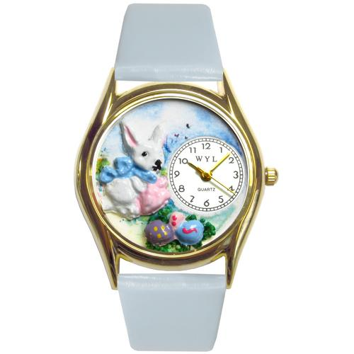 Easter Eggs Watch Small Gold Style
