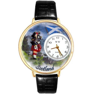 Scotland Watch in Gold (Large)