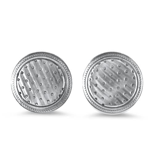 1870 Collection Earring Cuff Link Statement Stud Earrings