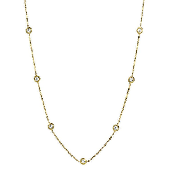 1870 Collection Necklaces and Pendants Diamonds by the Inch Necklace 20""