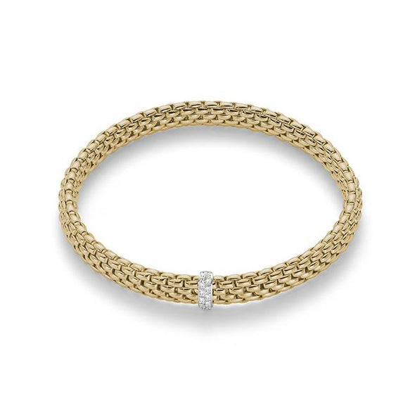 Fope Bracelet Vendôme Flex'it Bracelet with Diamonds