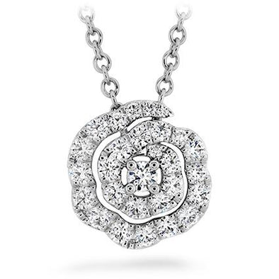 Hearts on Fire Necklaces and Pendants Lorelei Diamond Floral Pendant Necklace