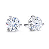 Hearts on Fire Earring Three-Prong Stud Earrings