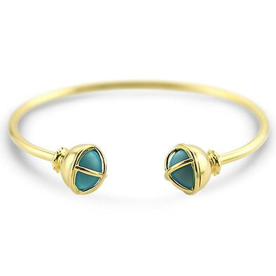 Maine Melon Bracelet Beacon Bauble Cuff Bracelet - Teal