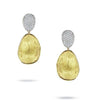 Marco Bicego Earring Lunaria Diamond Pavé Small Double Drop Earrings