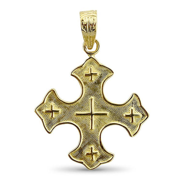 PAGE Estate Necklaces and Pendants Coptic Cross Pendant
