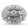 PAGE Estate Ring Diamond Cluster Ring 5