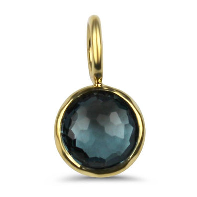 PAGE Estate Necklaces and Pendants Ippolita London Blue Topaz Lollipop Charm Pendant