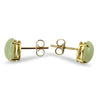 PAGE Estate Earring Jadeite Jade Stud Earrings