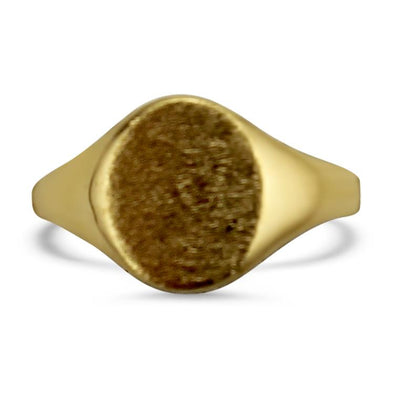 PAGE Estate Ring Oval Signet Ring 6