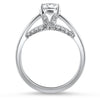 Springer's Bridal Engagement Ring Diamond Bridge Solitaire Setting