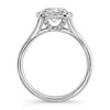 Springer's Bridal Engagement Ring Diamond Silhouette Setting