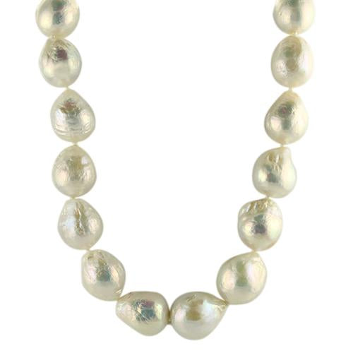 Springer's Collection Necklaces and Pendants Baroque Pearl Strand