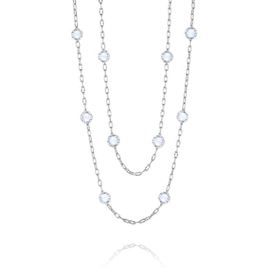 "Tacori Necklaces and Pendants Classic Rock Chalcedony 38"" Candy Drop Necklace"