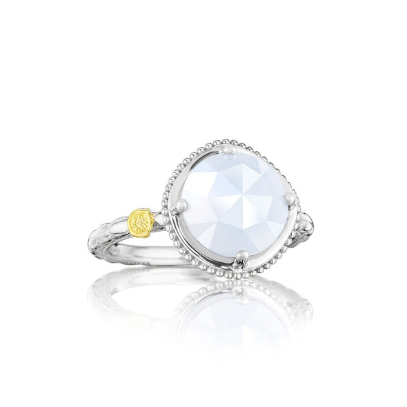 Tacori Ring Classic Rock Chalcedony Bold Simply Gem Ring