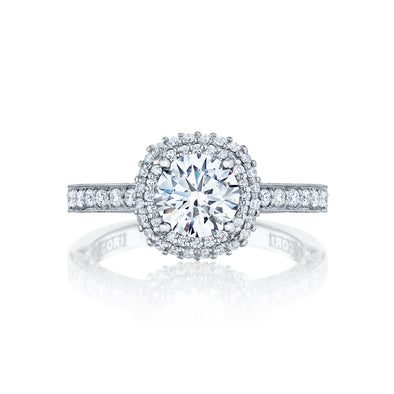 Tacori Engagement Engagement Ring Blooming Beauties Halo Engagement Setting